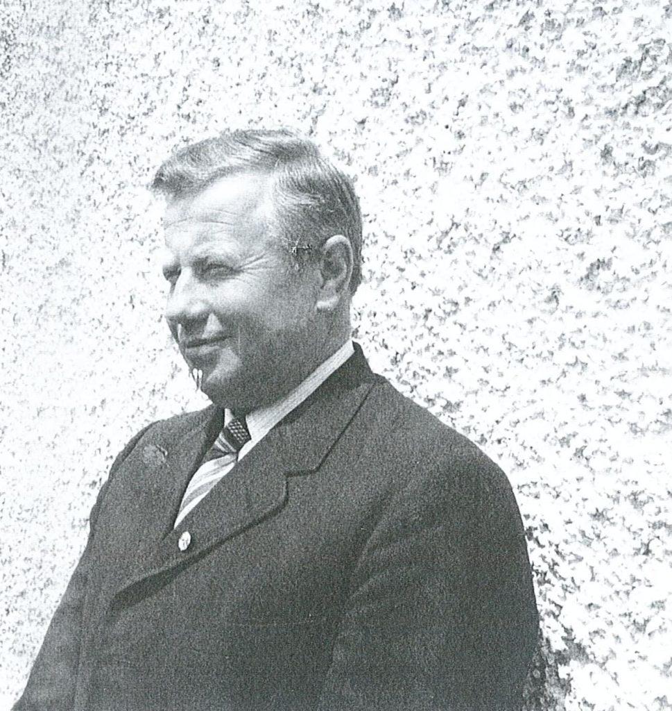 Neuer Obmann – Johann Hofer