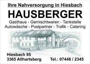 Gemischtwaren – Gasthaus – Hausberger