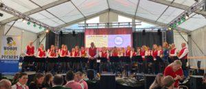 Dämmerschoppen beim Bezirksmusikfest in Waldhausen im Strudengau